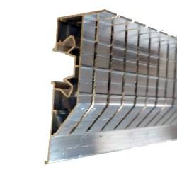 Profil přechodový pro LED AL, PL75 perforovaný - 2 m